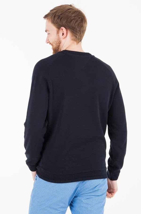 LIGHTWEIGHT FANCY TIPPED SWEATER-hover