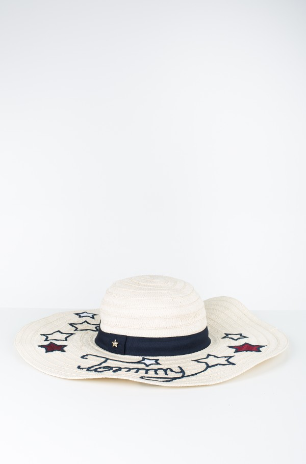 TOMMY STARS STRAW HAT