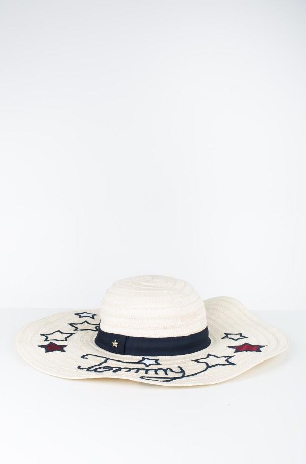 TOMMY STARS STRAW HAT