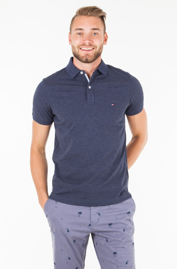 TOMMY HEATHER SLIM POLO