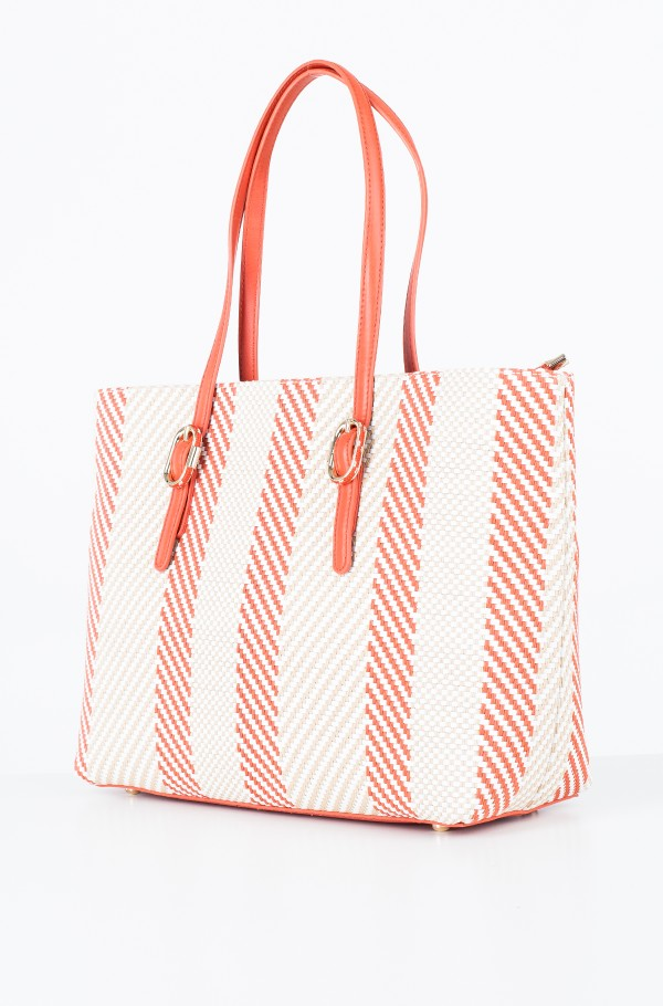 TH BUCKLE TOTE WOVEN-hover