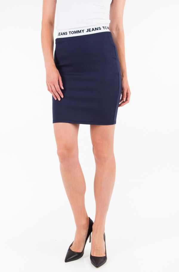 TJW LOGO PENCIL SKIRT