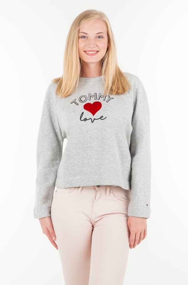 INJ TOMMY LOVE RAGLAN SWEATSHIRT