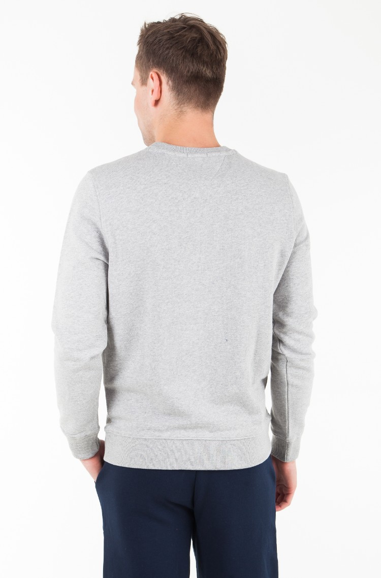 54257735 greyish white Hoodie TJM ESSENTIAL GRAPHIC CREW Tommy Jeans, Mens ...