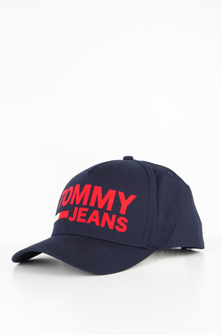 Blue 2 Cap TJU FLOCK PRINT CAP Tommy Hilfiger 6271dc7afc
