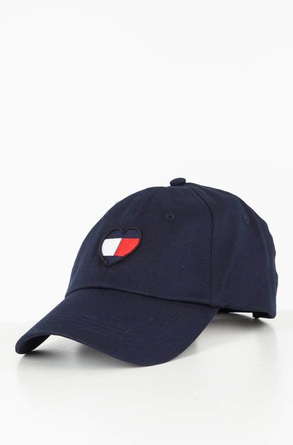 TJW FLAG HEART CAP