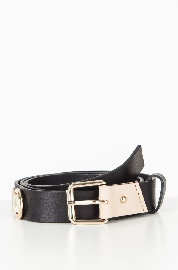 TJW LEATHER PATCH BELT 2.5