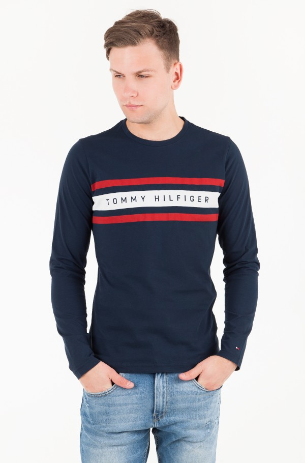 LOGO BAND GRAPHIC LONG SLEEVE TEE