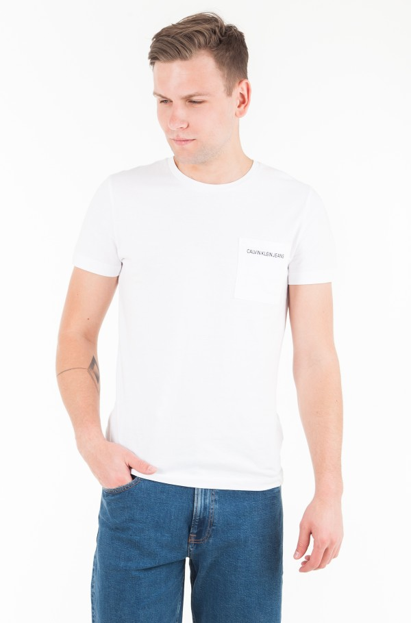 POCKET INSTITUTIONAL LOGO SLIM  TEE