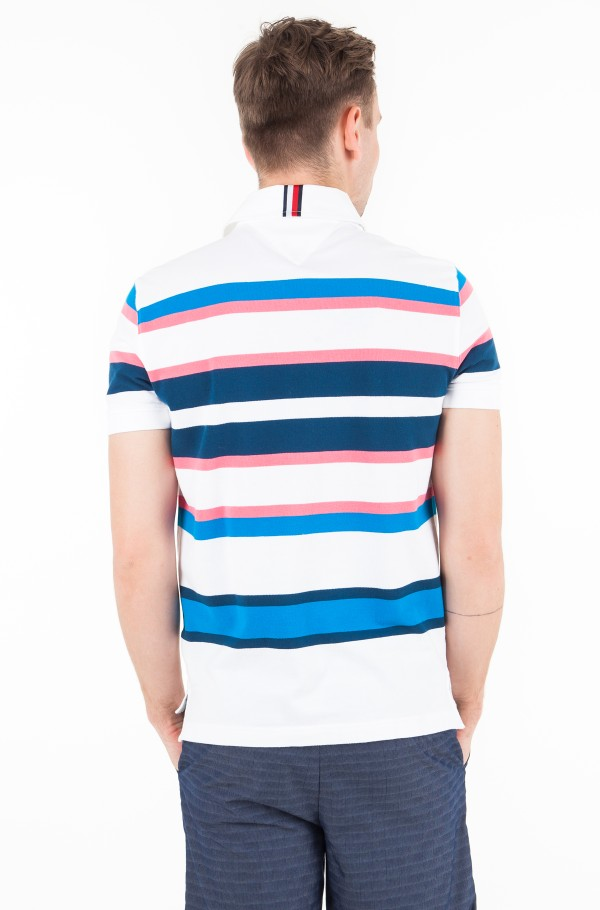 ENGENEERD STRIPE REGULAR POLO-hover