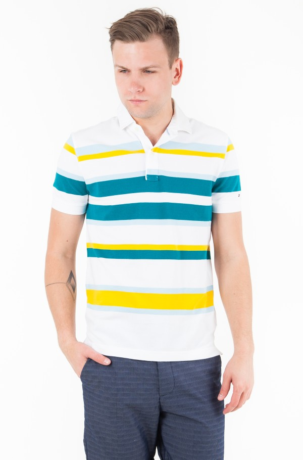 ENGENEERD STRIPE REGULAR POLO