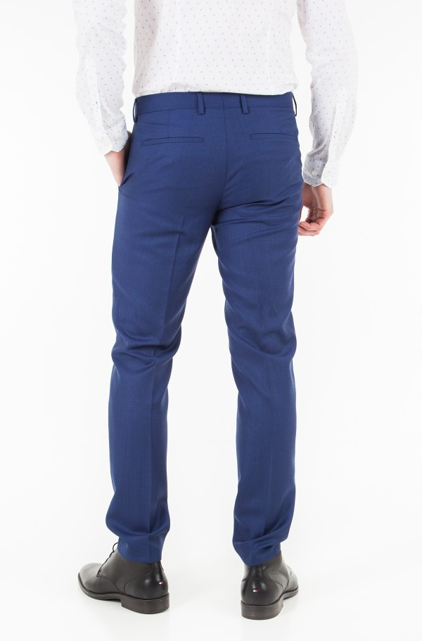 WOOL SLIM FIT SEPARATE PANT-hover