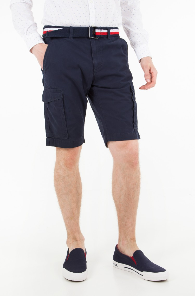 Tommy Hilfiger JOHN BELT - Short - blue