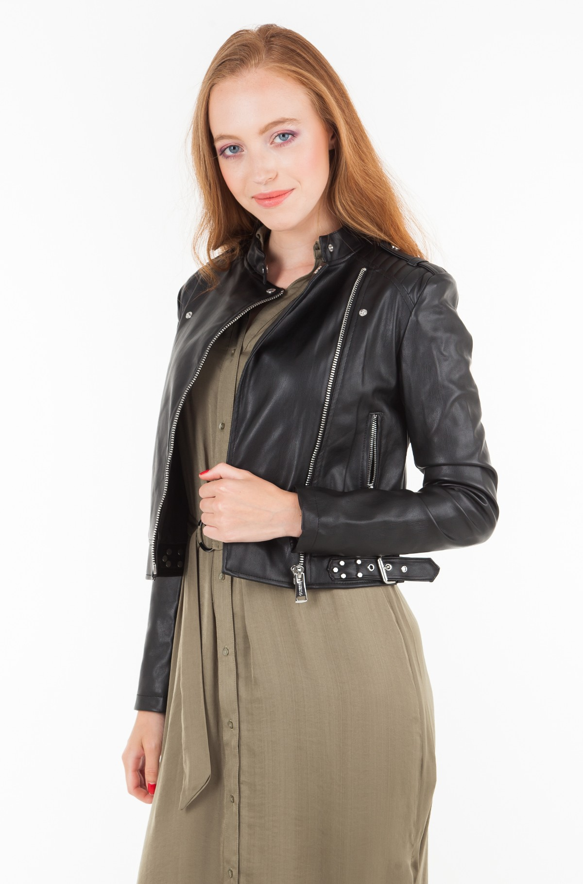 Leather jacket W83L21 WAEI0-full-1