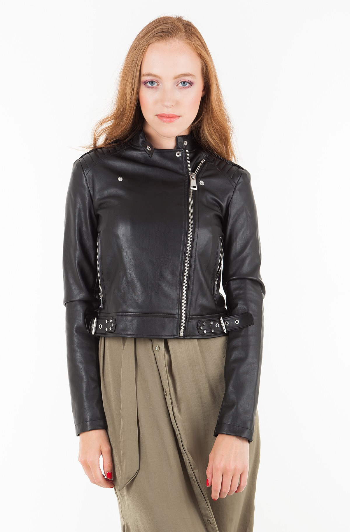 Leather jacket W83L21 WAEI0-full-2