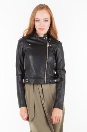 Leather jacket W83L21 WAEI0-2