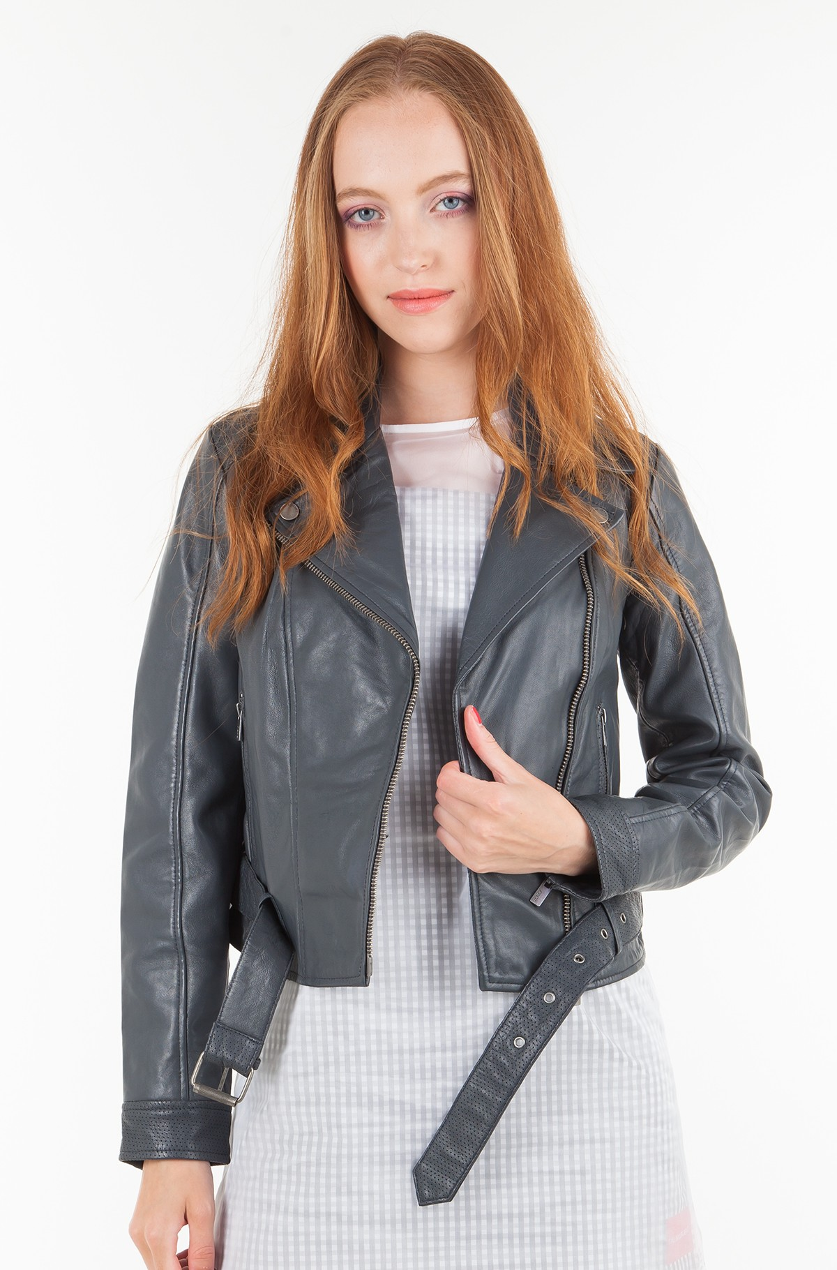 Leather jacket HELENA/PL401486-full-1