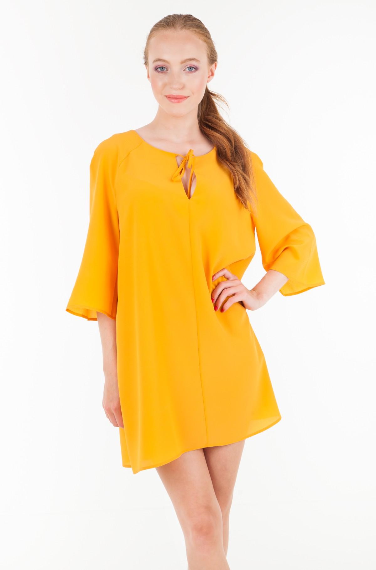 Kleita TJW A-LINE BOW DETAIL DRESS-full-1