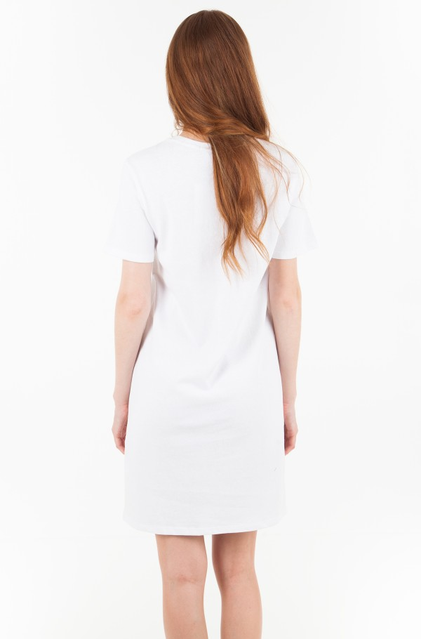 INSTITUTIONAL BOX LOGO T-SHIRT DRESS-hover