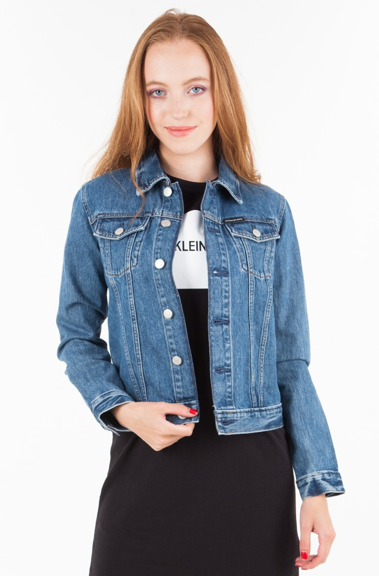 Denim jacket Clean line trucker	-1