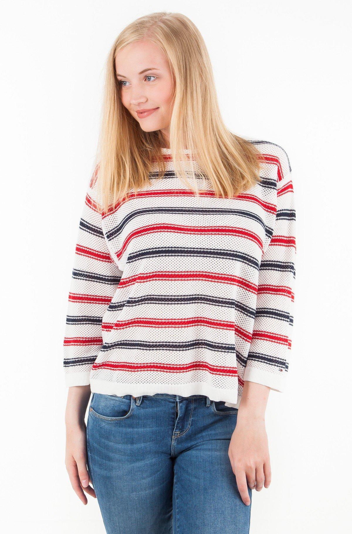 Sweater TJW MULTICOLOR STRIPE SWEATER-full-1