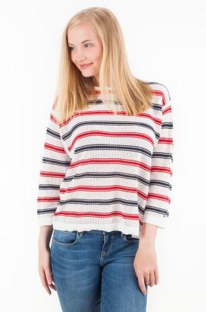 Sweater TJW MULTICOLOR STRIPE SWEATER-1