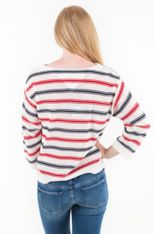 Sweater TJW MULTICOLOR STRIPE SWEATER-2