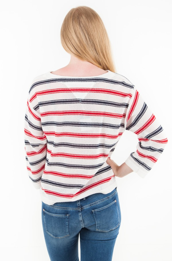 TJW MULTICOLOR STRIPE SWEATER-hover