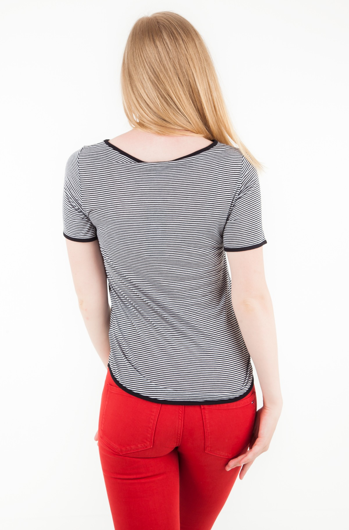 Marškinėliai DAISY SLASH-NK TOP SS-full-2