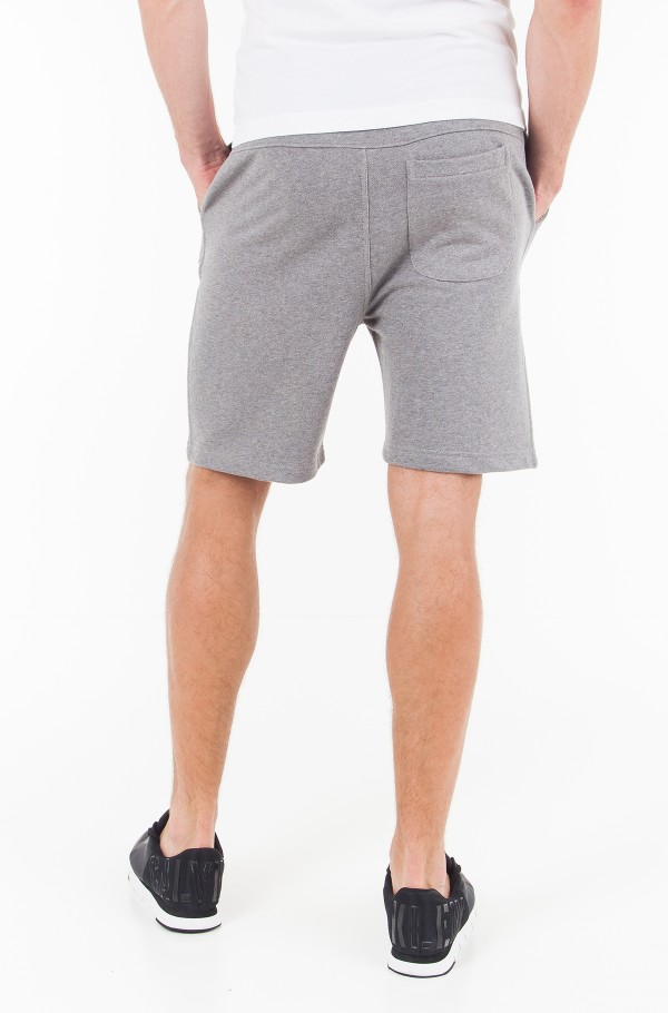 INSTITUTIONAL LOGO SLIM SWEATSHORTS-hover