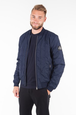Jacket DOUBLE SIDE POCKET QUILTED BOMBER-1