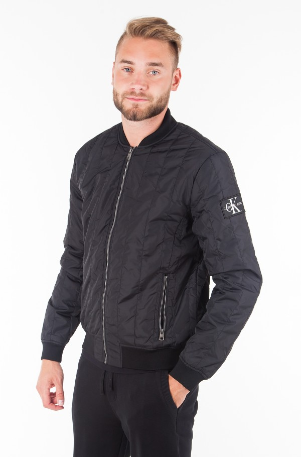 DOUBLE SIDE POCKET QUILTED BOMBER