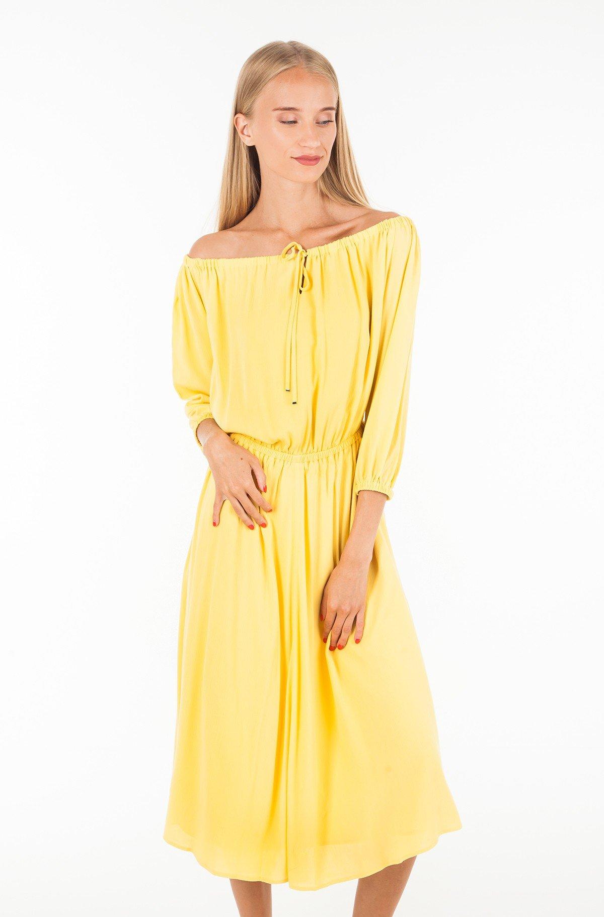 Dress RACHEL MIDI DRESS 3/4 SLV-full-1