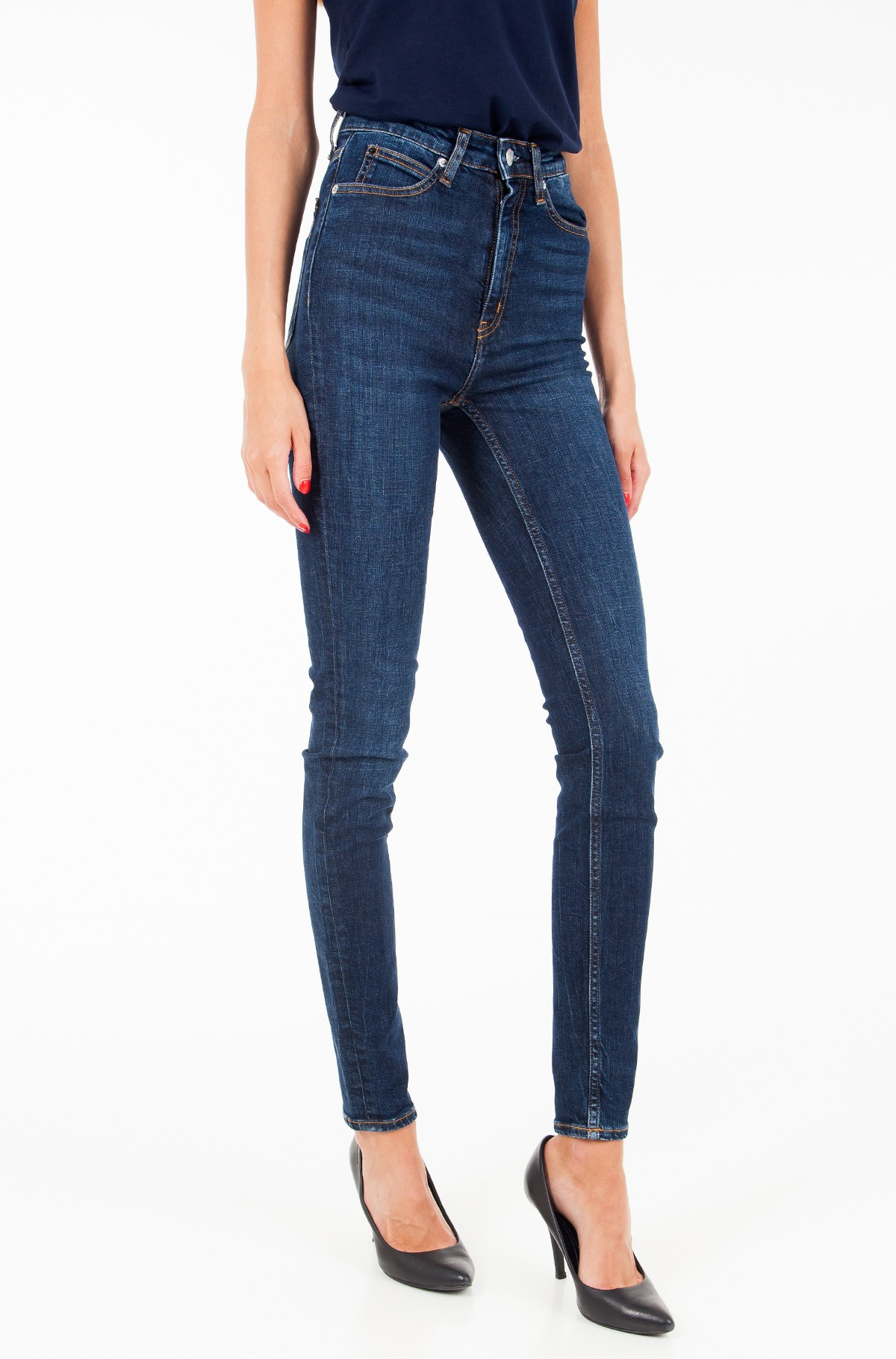 Džinsinės kelnės CKJ 010: High Rise Skinny (West Cut)-full-1