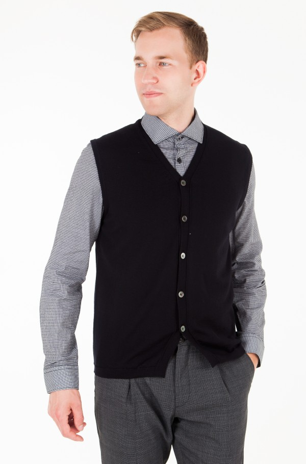 LUXURY WOOL BUTTONED VEST
