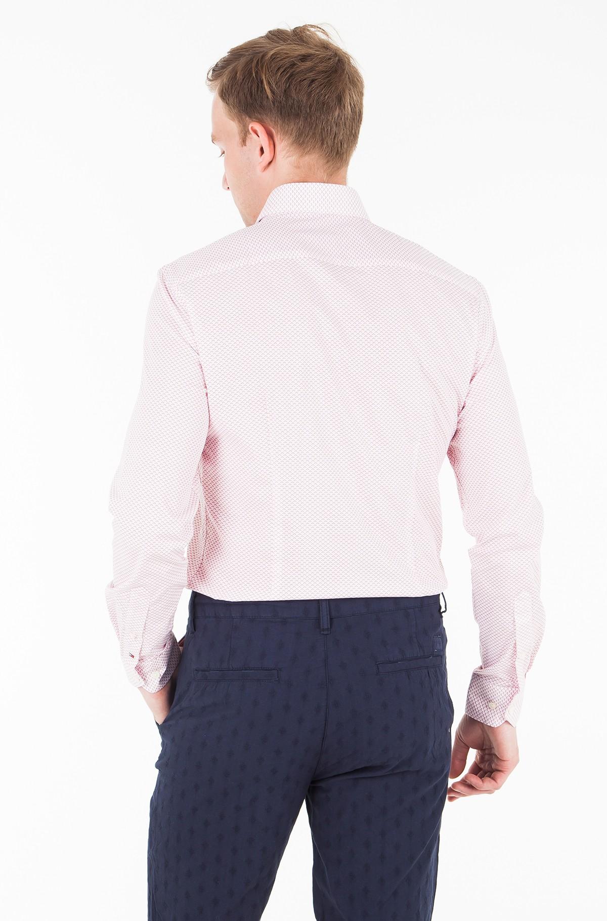 Marškiniai STRETCH PRINT CLASSIC SLIM SHIRT-full-2