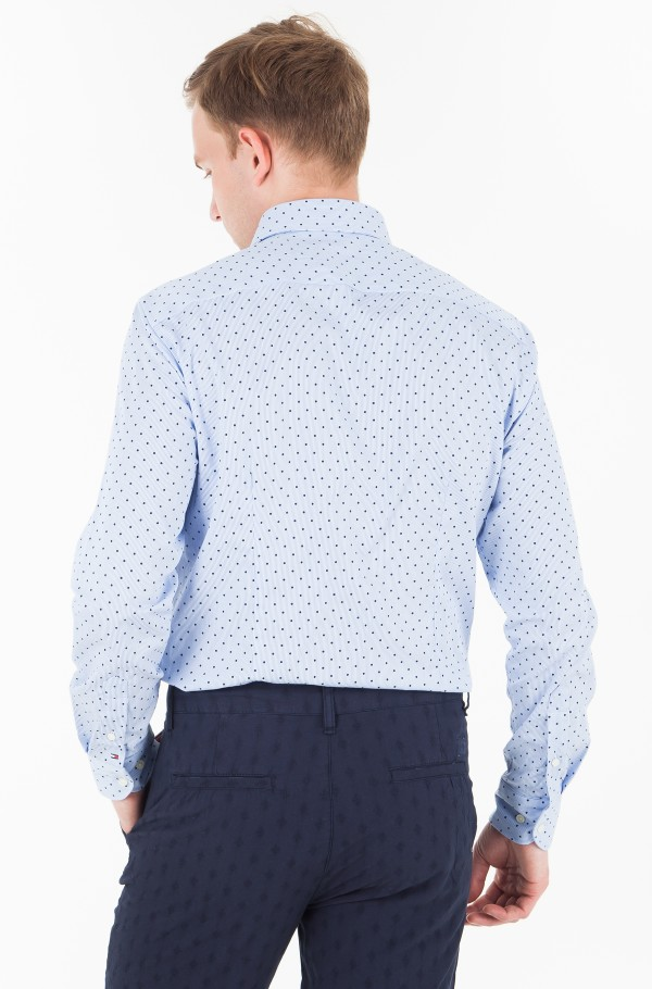 DOT STRIPE CLASSIC SHIRT-hover