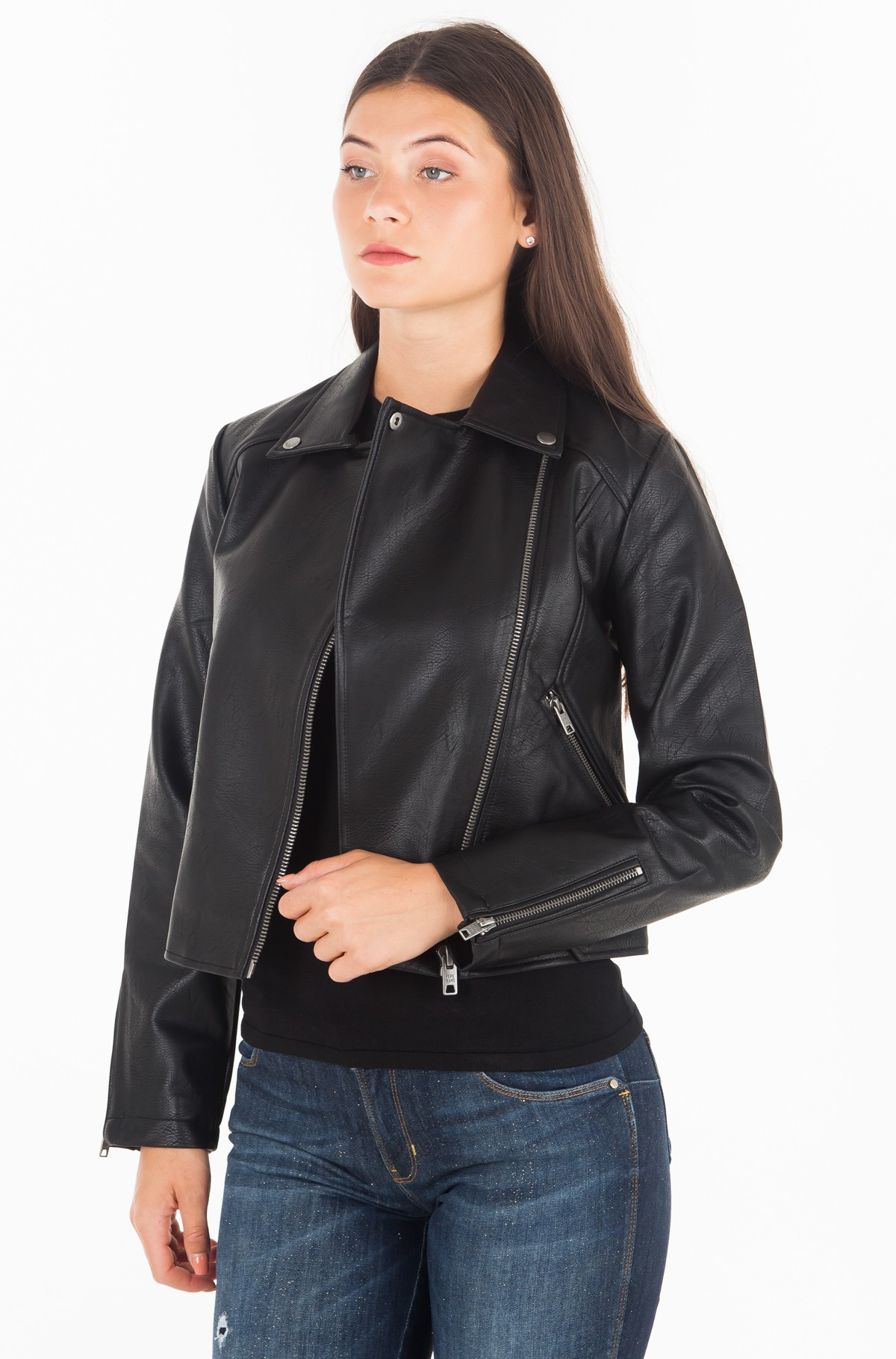 Leather jacket OLGA/PL401491	-full-1