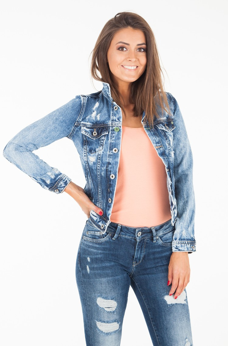 Denim jacket CORE JACKET/PL400654WX4-1