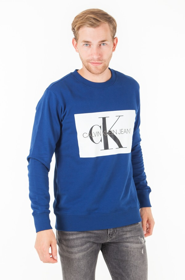 MONOGRAM BOX LOGO SWEATSHIRT