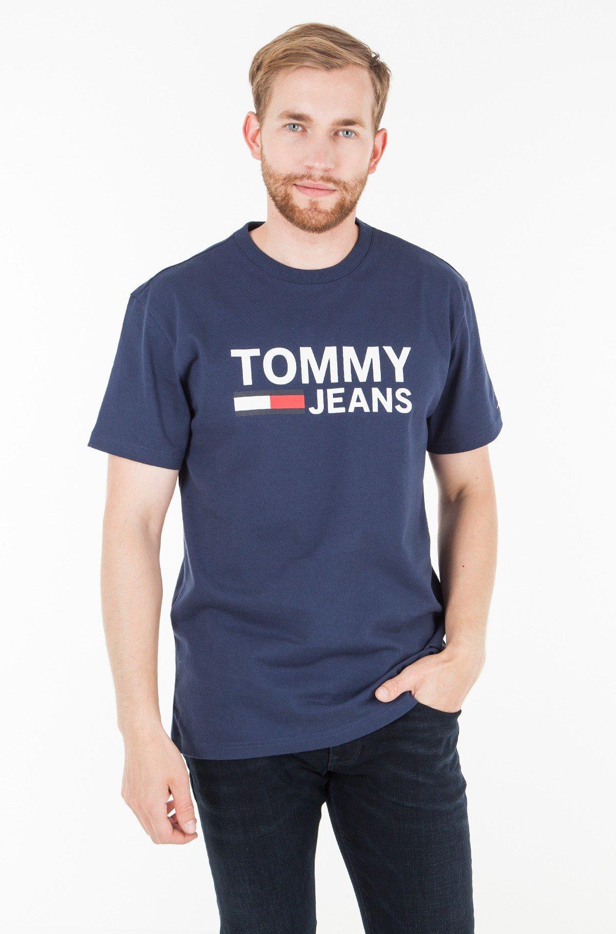 T-krekls TJM TOMMY CLASSICS LOGO TEE-full-1