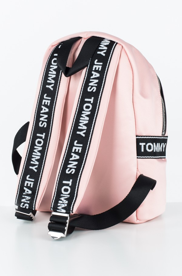 TOMMY JEANS LOGO MINI BACKPACK SATIN-hover