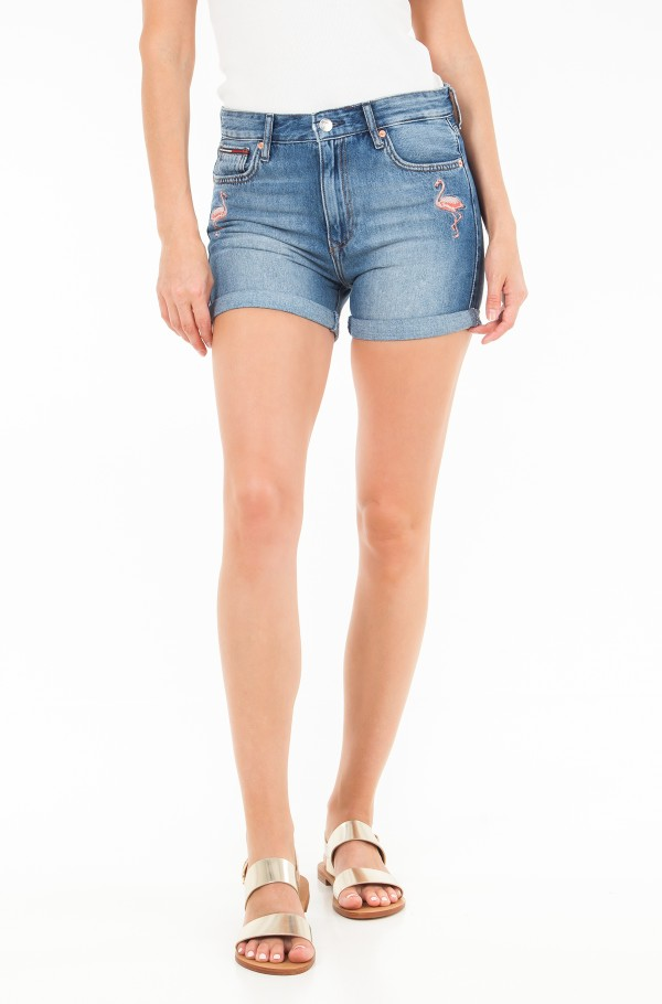 RELAXED DENIM SHORT