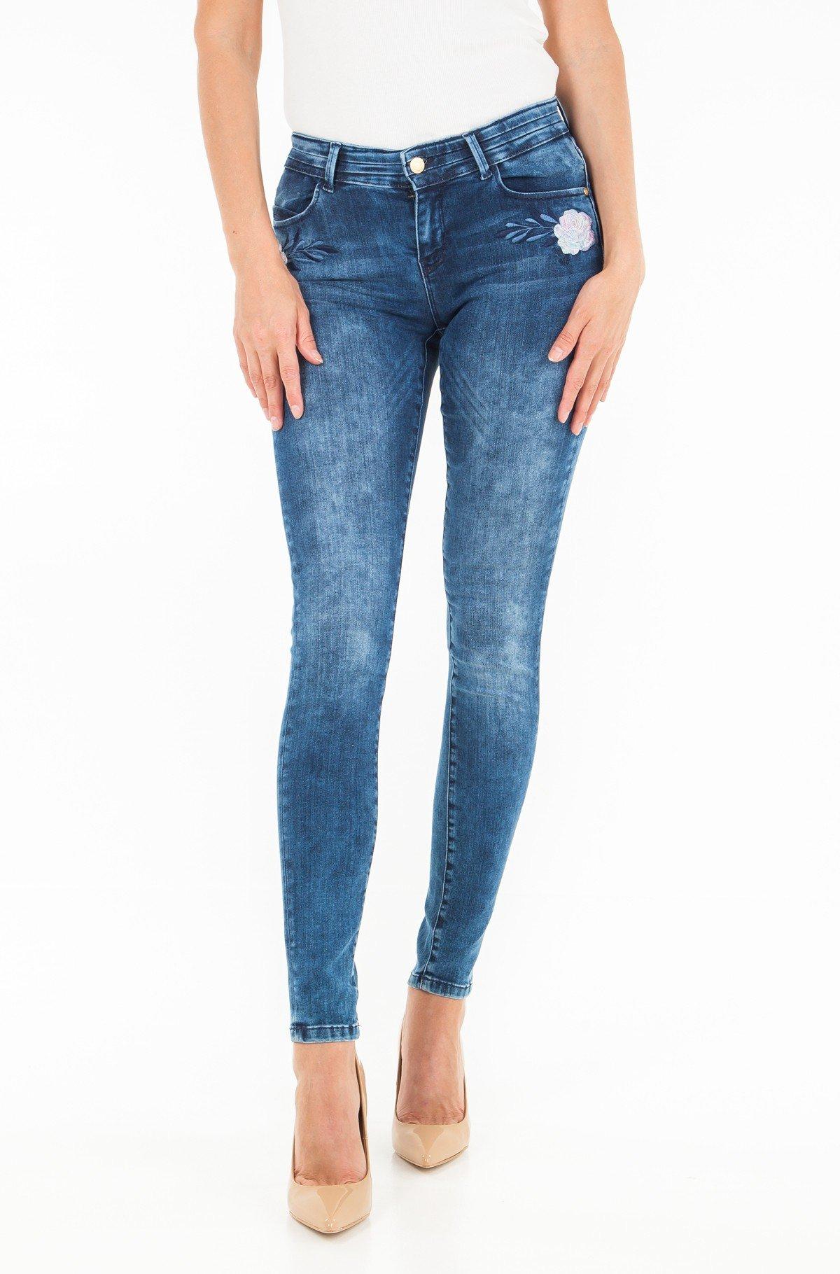 Džinsinės kelnės Rose02 skinny-full-1
