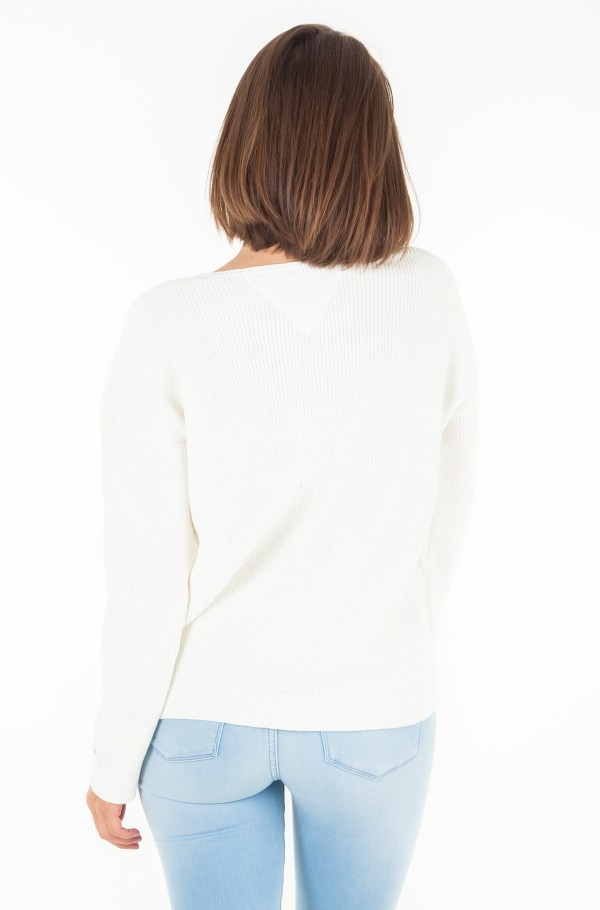 TJW EASY TEXTURED SWEATER-hover