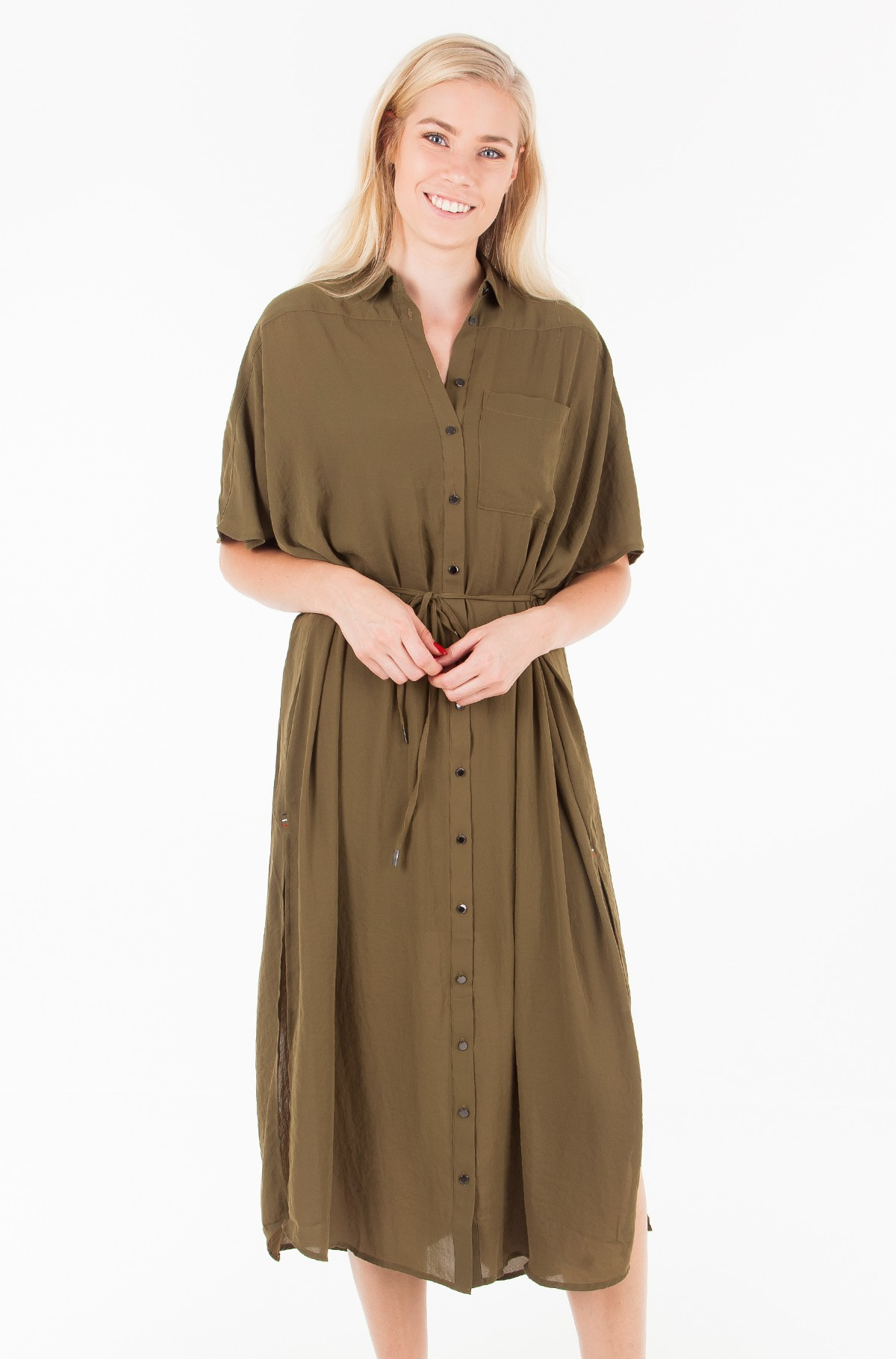 Dress TJW MAXI SHIRT DRESS-full-1
