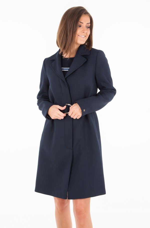 CARLY VISCOSE BLEND COAT