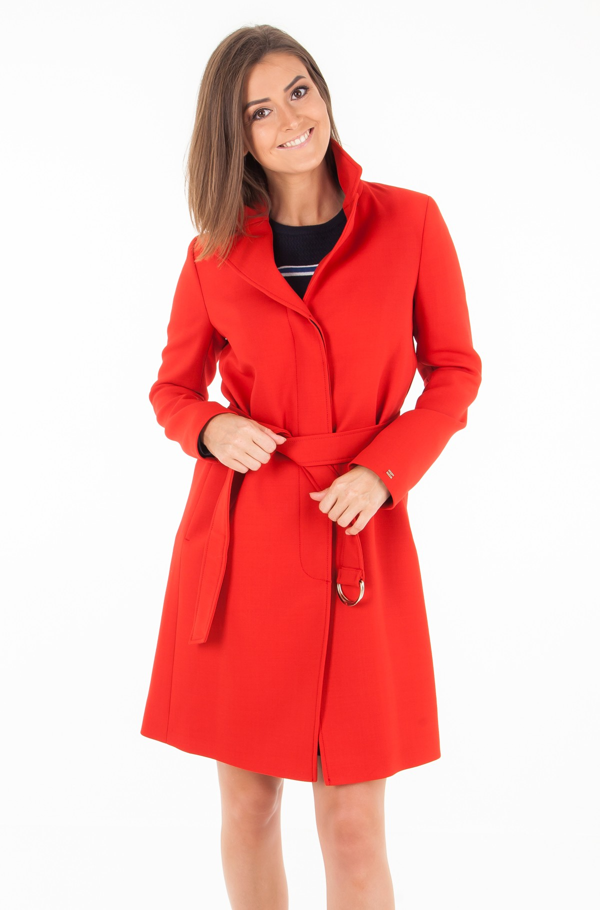 Coat CARLY VISCOSE BLEND COAT-full-1