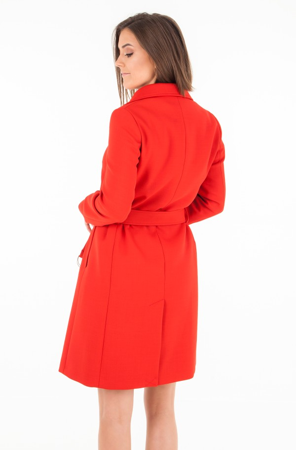 CARLY VISCOSE BLEND COAT-hover