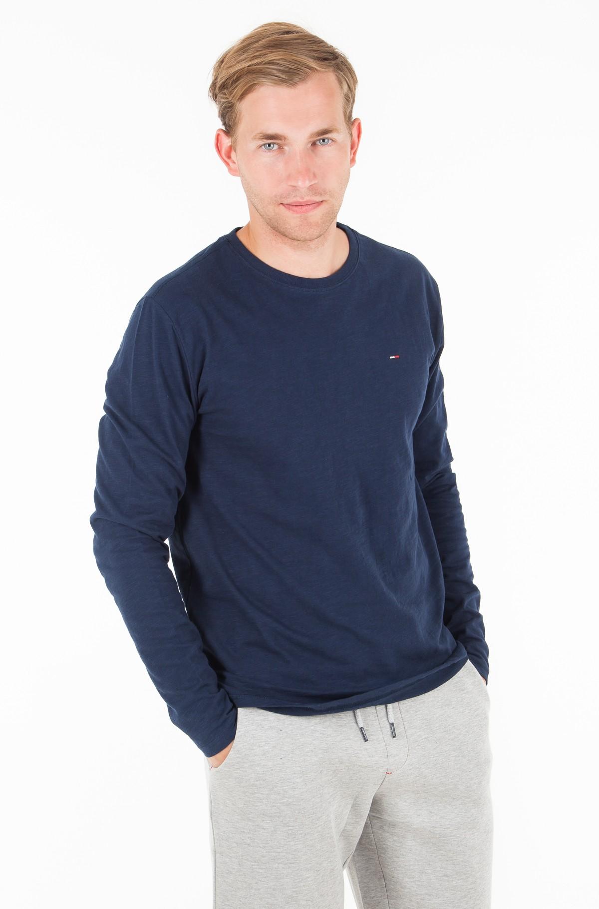 T-krekls ar garām piedurknēm  TJM SLUB LONG SLEEVE TEE-full-1